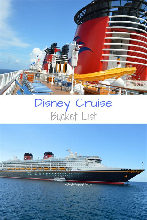 disney cruise bucket list my big fat happy life
