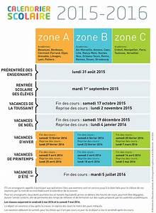 Dates De Vacances Scolaires 2016 : vacances scolaires zones calendrier modifi s infobassin ~ Melissatoandfro.com Idées de Décoration