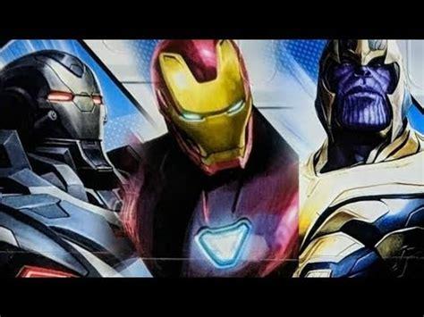 New Avengers Endgame Promo Art Reveals Looks Iron