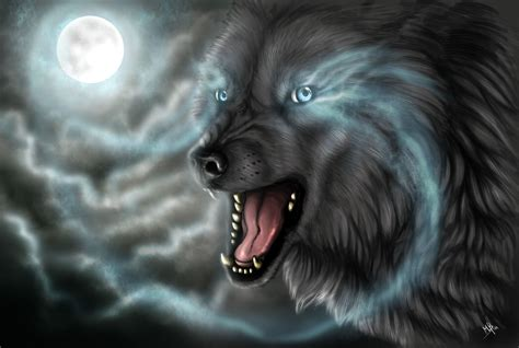 Cool Dark Wolves