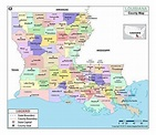 MOW AMZ on   County map, Louisiana parish map, Louisiana ...