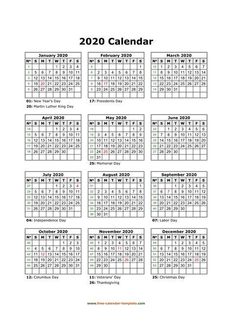 printable yearly calendar   calendar templatecom