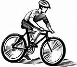 Coloring Bicycle Bike Safety Colorare Transportation Clipart Riding Bici Ciclista Corsa Sua Printable Clip Kb Library Ride Popular Disegni Gratis sketch template
