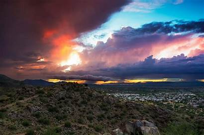 Phoenix Arizona Wallpapers Az Valley Sunset Sunrise