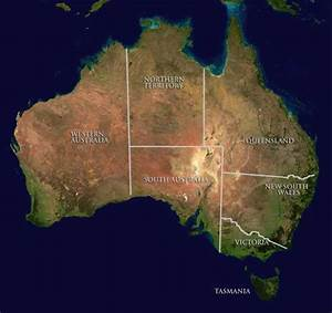 Interactive map of Deserts of Australia