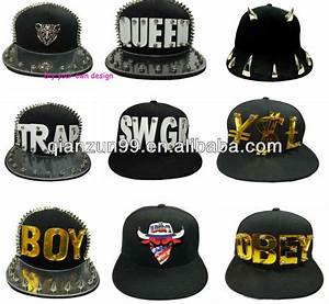 custom 3d acrylic letters plastic letters snapback hat With custom lettering hats