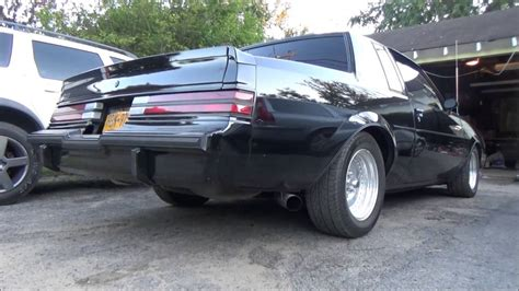 Buick Grand National Exhaust by 1985 Buick Grand National 3 Quot Exhaust Cold Start
