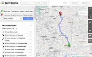 Maps Route Berechnen Einblenden : openstreetmap startet eigenen routenplaner com professional ~ Themetempest.com Abrechnung