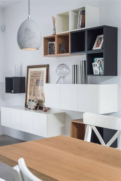 White Cabinets With Grey Walls by 45 Ways To Use Ikea Besta Units In Home D 233 Cor Digsdigs