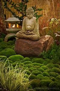 asia spirit fur den garten buddha figur und tolle With französischer balkon mit buddha statue im garten