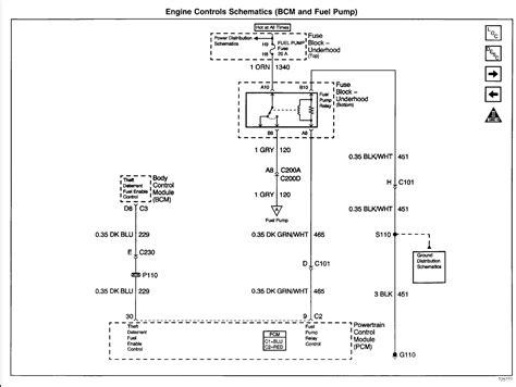 fuel pump relay remote wire   ground lstech