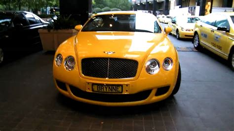 yellow bentley gt speed taxi youtube