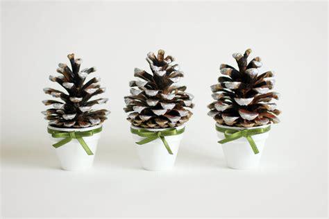 christmas pine decorations pine сone decoration set of three christmas decoration
