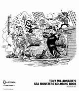 Sea Millionaire Monsters Coloring Tony Opinion Boom Exclusive Getting Idw Publishing Release Categories sketch template