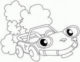 Coloring Preschool Transportation Pages Cars Printable Popular Library Clipart sketch template