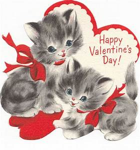 141 best Valentine's Day Cats images on Pinterest | Kitty ...