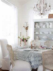 Shabby Chic Mode : beautiful shabby chic style dining room design ~ Markanthonyermac.com Haus und Dekorationen