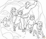 Bear Hunt Coloring Going Cave Colouring Pages Narrow Gloomy Re Printable Crafts Supercoloring Teddy Were Bed Google Berenjacht Printables Gaan sketch template