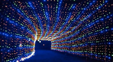 light drive in this drive thru light tunnel is just 2 hours