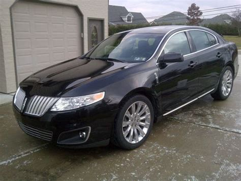 how things work cars 2009 lincoln mks navigation system buy used 2009 lincoln mks awd 3 7l navigation panoramic sunroof in aliquippa pennsylvania