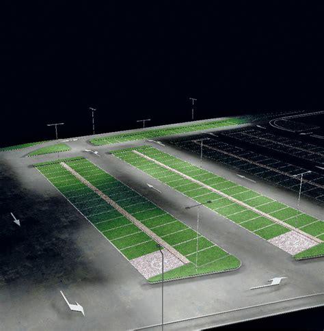 illuminazione parcheggi parcheggio agordo bl arredo urbano e illuminotecnica