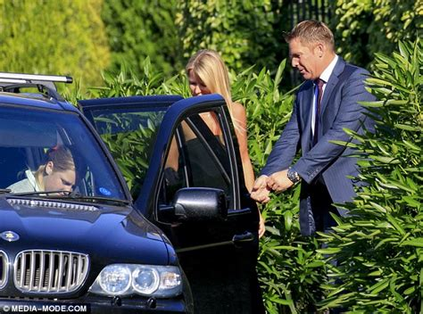 shane warne beams with pride with daughter brooke on her