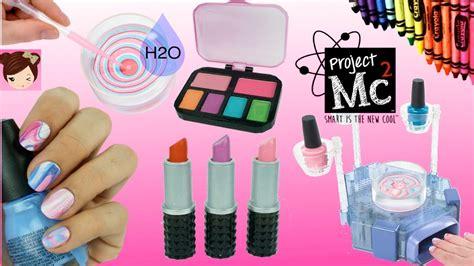 project mc beauty experiments ho nail kit diy crayon