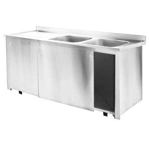 metal kitchen sink cabinet unit inomak stainless steel sinks on cupboards kitchen sink 9149