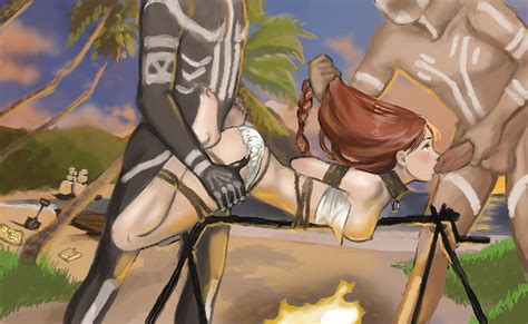Spit Roast By Alvlaug Hentai Foundry