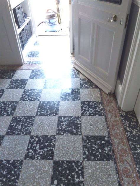 stone cleaning and polishing tips for terrazzo floors