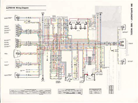 Kawasaki Kz750 Wiring Diagram by The Kz Gpz Shop Manual 1980 1984