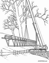 Crane Construction Coloring Attic Pages Belt Cartoon Getcolorings Illustrator Getdrawings Drawings Printable Jessperna Template sketch template
