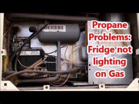 rv refrigerator repair dometic clean   youtube