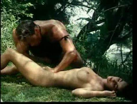 Tarzan And Jane Pounded Tough In Jungle