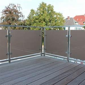 Sichtschutz Balkon Glas : balkon sichtschutz glas windschutz balkon balkon sichtschutz glas edelstahl balkon hause ~ Indierocktalk.com Haus und Dekorationen