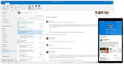 Microsoft Office Outlook by Introducing Availability Of Office 365 Groups In Outlook
