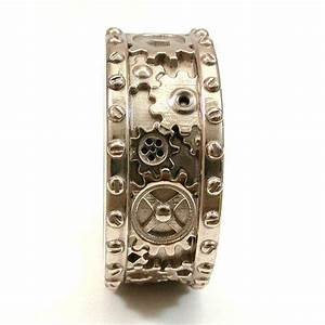 17 best images about industrial wedding rings on pinterest With mens wedding ring gears