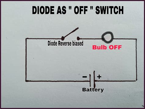 Working Diode Switch Electronic Circuits