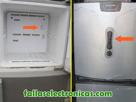 fallas comunes en refrigeradores fallaselectronicas