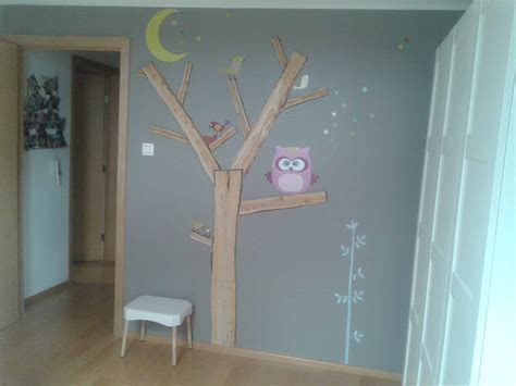 decoration arbre pour chambre bebe fille tree wall decor