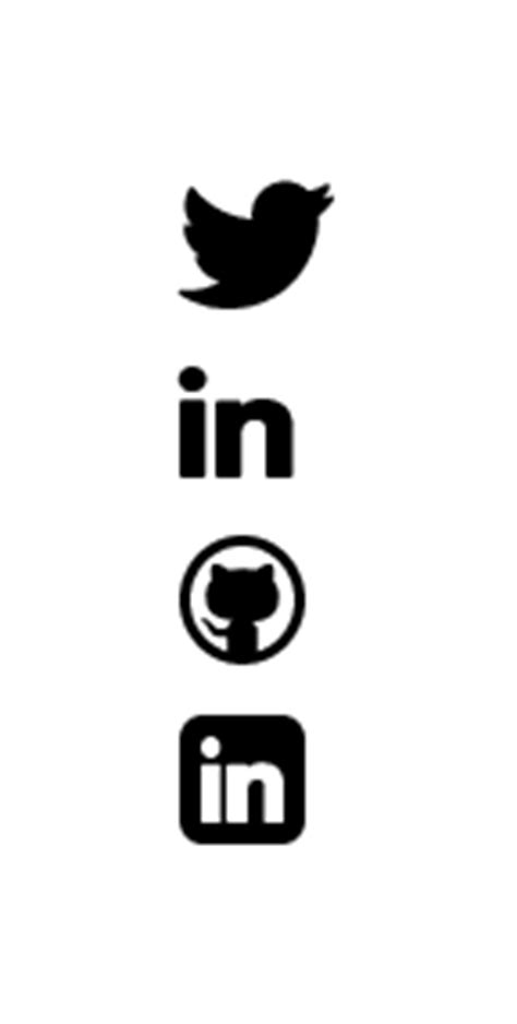 Email Symbol For Resume by Image Gallery Linkedin Symbols