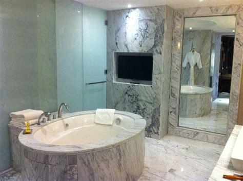 indian tub in hyatt regency gurgaon stunning marble bathroom with