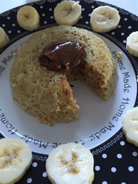 et sa cuisine legere bowl cake banane nutella et sa cuisine gourmande