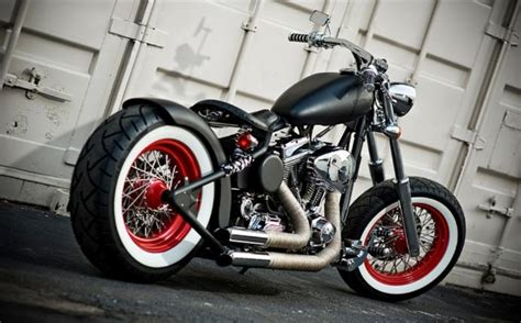 Old School Bobber Bike Wallpaper Download