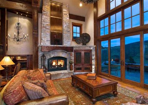 I Have A Thing For Lodge-style Living Rooms. And I Love