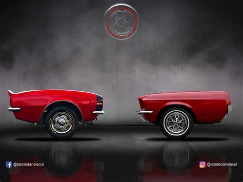 frente  cola de los carros deportivos hechos por
