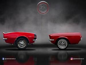 Frente Y Cola De Los Carros Deportivos Hechos Por Un Artista Franc U00e9s