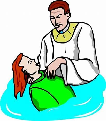 Baptism Clipart Christian Believer Clip Catholic Isaiah