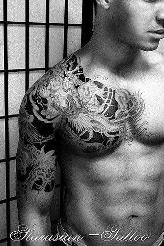 IStarasian Tattoo Art - Chris Dragon vs Phoenix 5   Dragon