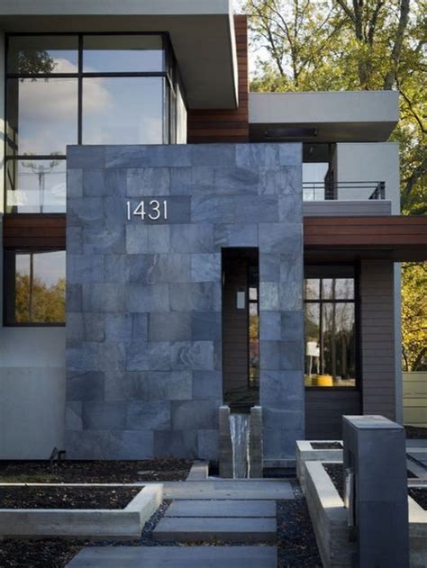exterior stone tile design ideas remodel pictures